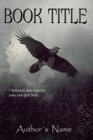 Book Cover Available- Flying crow by Aeternum-designs