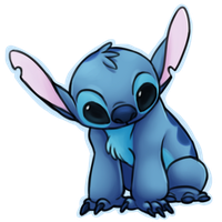 Chibi stitch by louizim