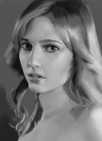 Portrait study by GrayCactus