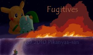 Mystery Dungeon- Fugitives by Pikanyaa-san