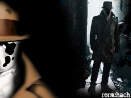 Rorschach Wallpaper by LordPyro
