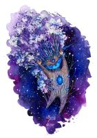 Guardian of the Forest, Stars by ForestDiver