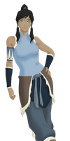 Korra Photoshoot Vector by eduardowar