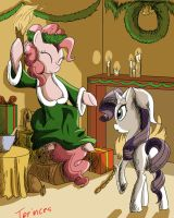 The Pony of Christmas Present (quodfuero comish) by Tprinces