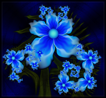 Blue Blooms by JCCJ756