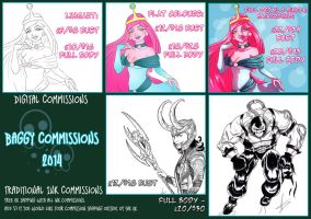 Commissions 2014 by BaGgY666