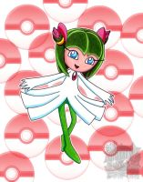 Cosmo : kirlia by aprict