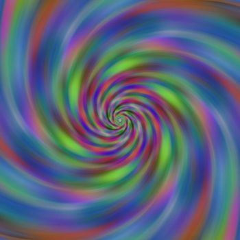 Colourful Swirl by Gizmogirl456