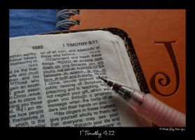 1 Timothy 4:12 by ice-bear