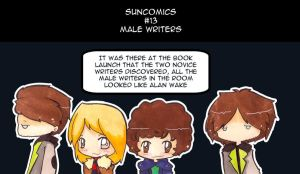 Suncomics 13: writers by Sunchildkate