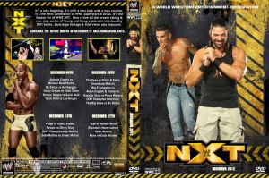 WWE NXT December 2012 DVD Cover by Chirantha