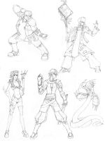 Character sketches, Awake by aethus