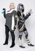 Dr Chakwas and Tali by Deviant-Mutha
