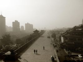 New and old Xi'an by Sciacca-Sciacca