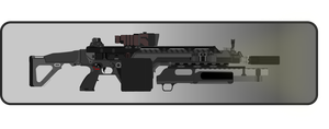 AR-558 Rifle New WIP 5 by Jon-Michael-May