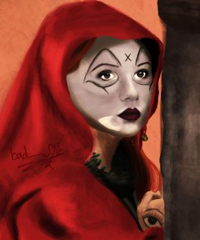 The Fires of Pompeii, Soothsayer Close Up by bad---w0lf