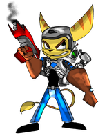 Ratchet and Clank by 2RaymanM64