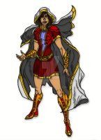 Injustice Style: Mary Batson by Rems12