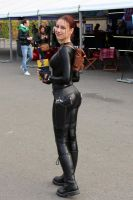 Lara Croft cosplay: catsuit improvisation 4 by TanyaCroft