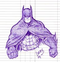 Batman DOODLE 09 by LucasAckerman