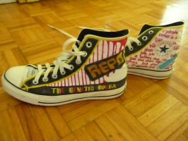 Repo The Genetic Opera shoes by APirateAtHeart