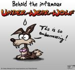 The infamous underwearwolf by TobiasWeinald