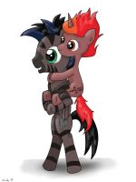 Stormy and Ember Rose by FinnishGirl97