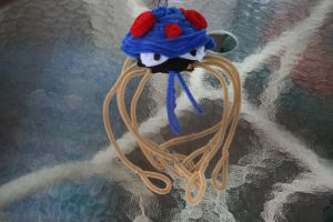 Pipe cleaner Tentacruel by TV-QueenMaster