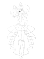 Chibiusa Commission Lines by Sarky-Sparky