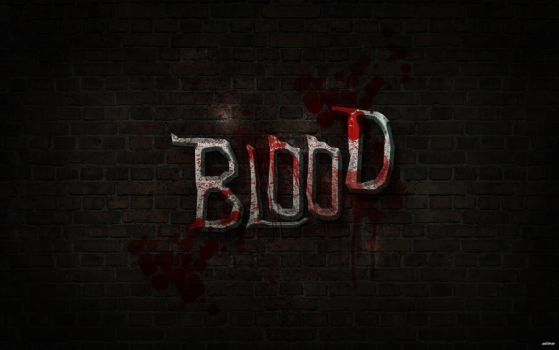 Blood wallpaper V1.0 by a0it0m0e