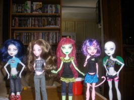 New Create a monster ghouls by Demonqueen23