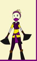 TMNT Future: New May Konoichi outfit by cupcakeforever18