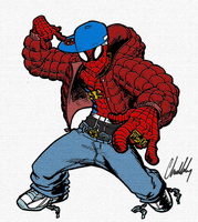 Hip Hop Spidey by ComicsbyChris