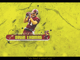 Devin Thomas Wallpaper Yellow by KevinsGraphics