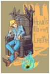 howl's moving castle commish by NotParticularly