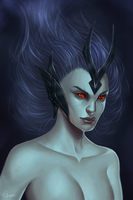 Vengeful spirit by CattSparrow