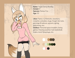 Twyla Official Ref Sheet by ObstinateAnarchist