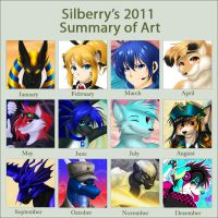 Art Summary - 2011 by Silberry