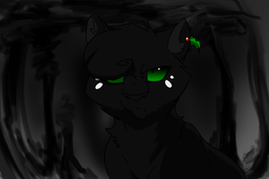 Hollyleaf is SERIOUS by Urnam-BOT