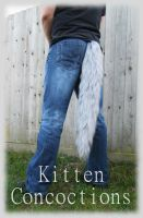 Wolf Tail by KittenConcoctions