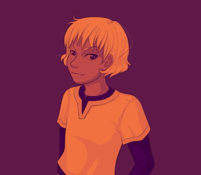 Palette challenge: Alanna in #12 by Jequila