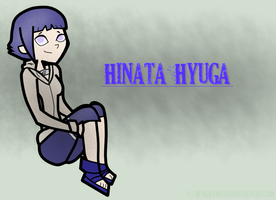 Hinata Hyuga in TD by DunGwenLover