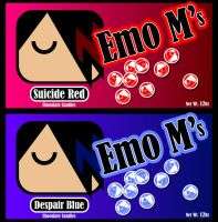 Emo M's by MoonlitxReverie