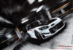 S2000 in Motion by bufuuu