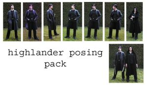 highlander posing pack by syccas-stock