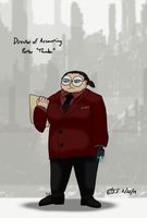 SCP Personnel Practice 02 - ''Director Porter'' by toadking07