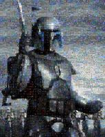 Jango Fett...MOST ADVANCED MOSAIC TO DATE by timmywheeler
