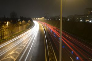 Highway by Night II by Thebit846