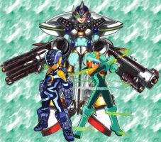 Megaman Sentai: Exiles by DarkStrings