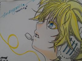 Len Kagamine (Chiko) by oreo-and-chiko-chan